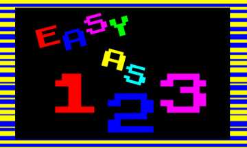 Easy as 123 a free HTML5 game made in Gamemaker