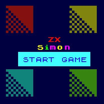 ZX Simon a free retro html 5 game