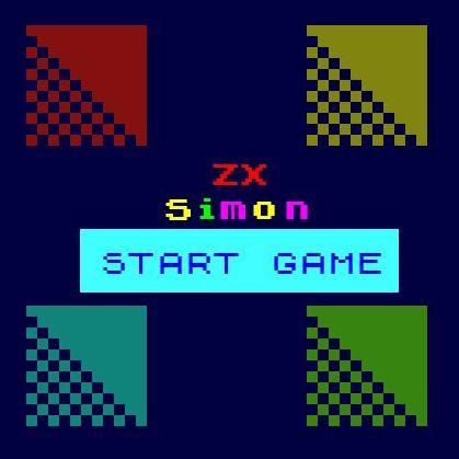 ZX Simon a free retro html 5 game